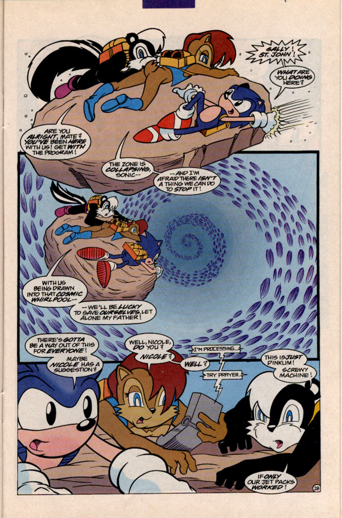 Sonic - Archie Adventure Series December 1996 Page 20