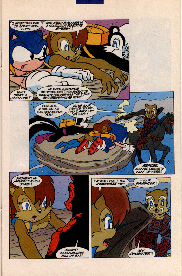 Sonic - Archie Adventure Series December 1996 Page 22