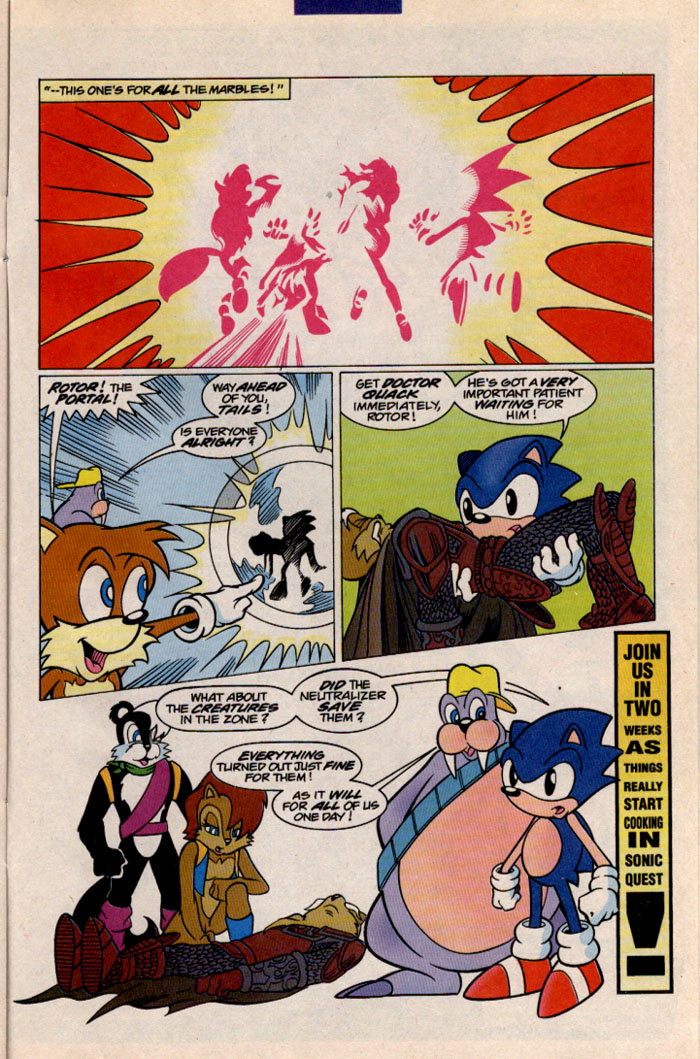 Sonic - Archie Adventure Series December 1996 Page 26