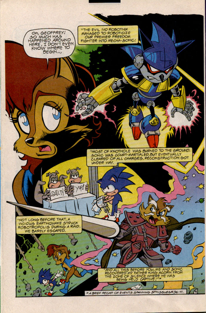 Sonic - Archie Adventure Series December 1996 Page 6