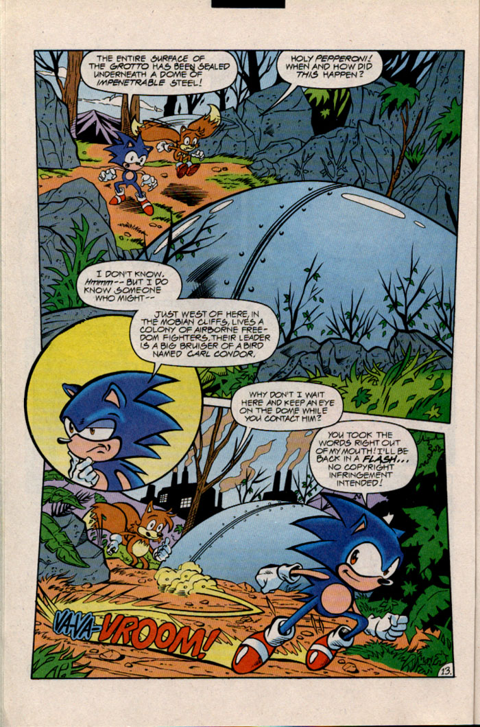 Sonic - Archie Adventure Series December 1996 Page 15