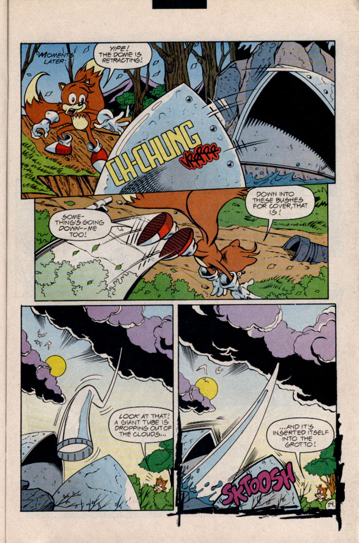 Sonic - Archie Adventure Series December 1996 Page 16