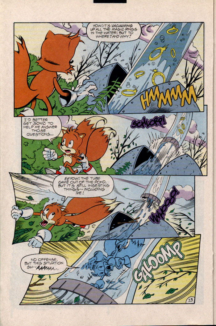 Sonic - Archie Adventure Series December 1996 Page 17