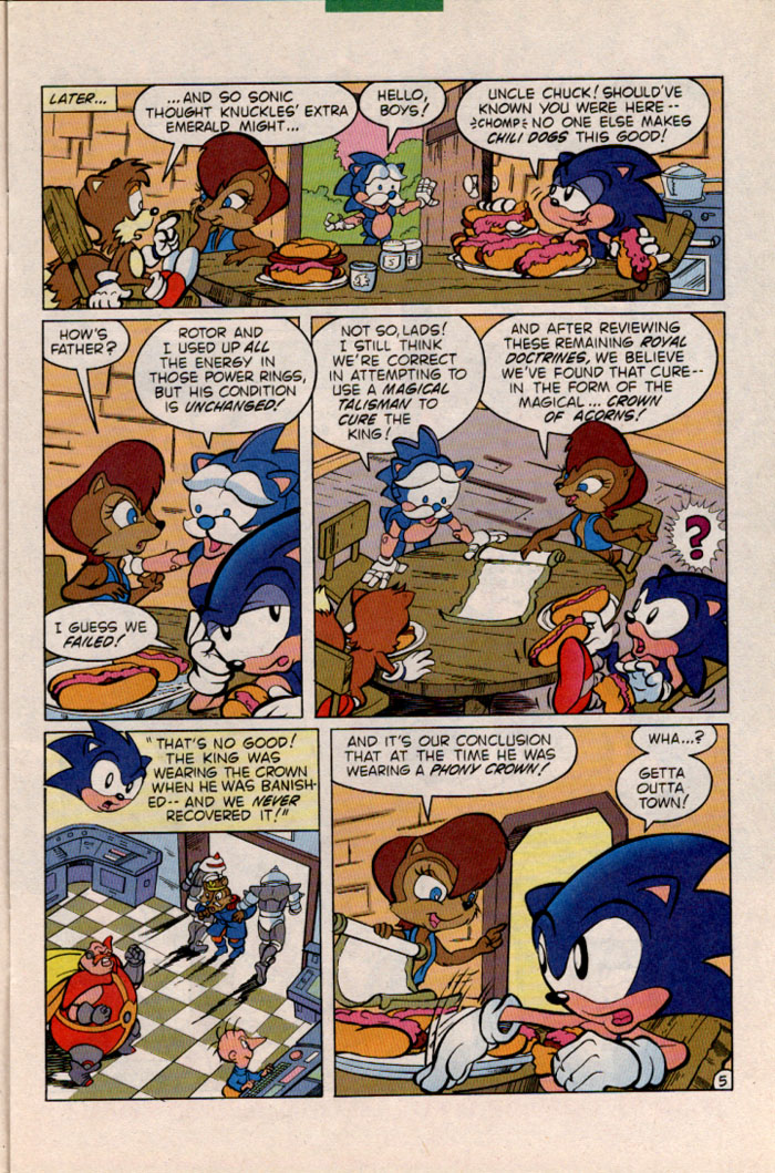 Sonic - Archie Adventure Series January 1997 Page 5