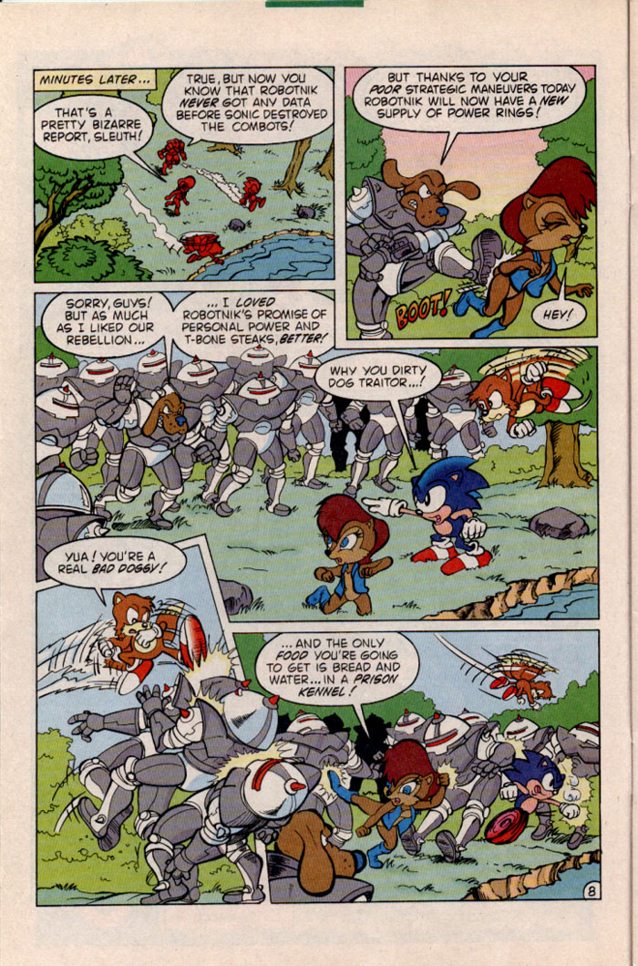 Sonic - Archie Adventure Series January 1997 Page 8