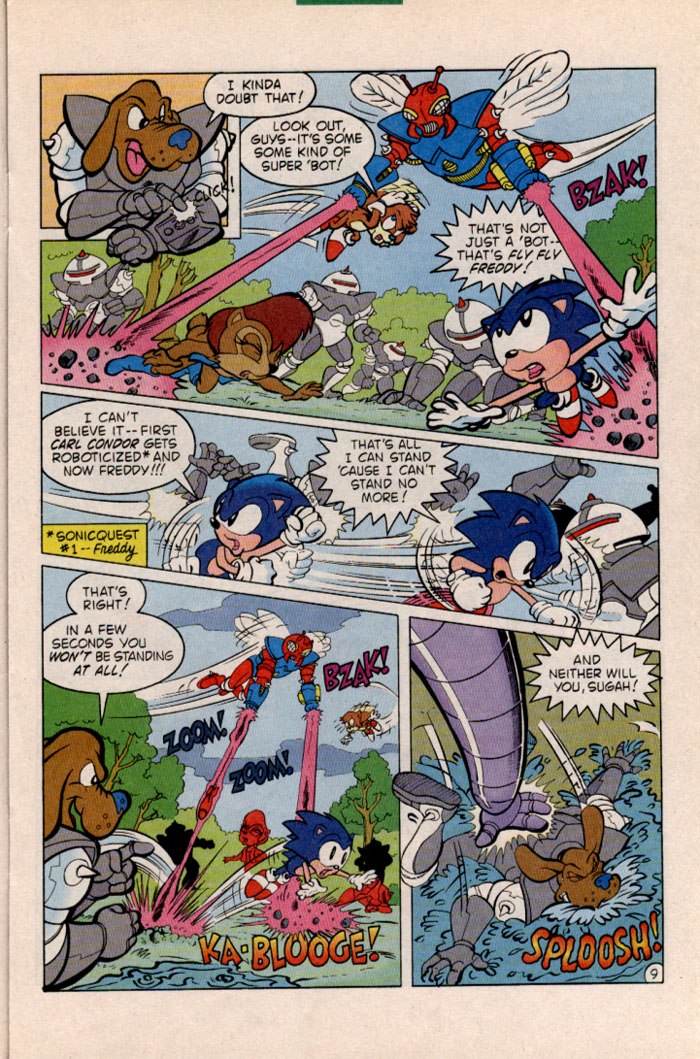Sonic - Archie Adventure Series January 1997 Page 9