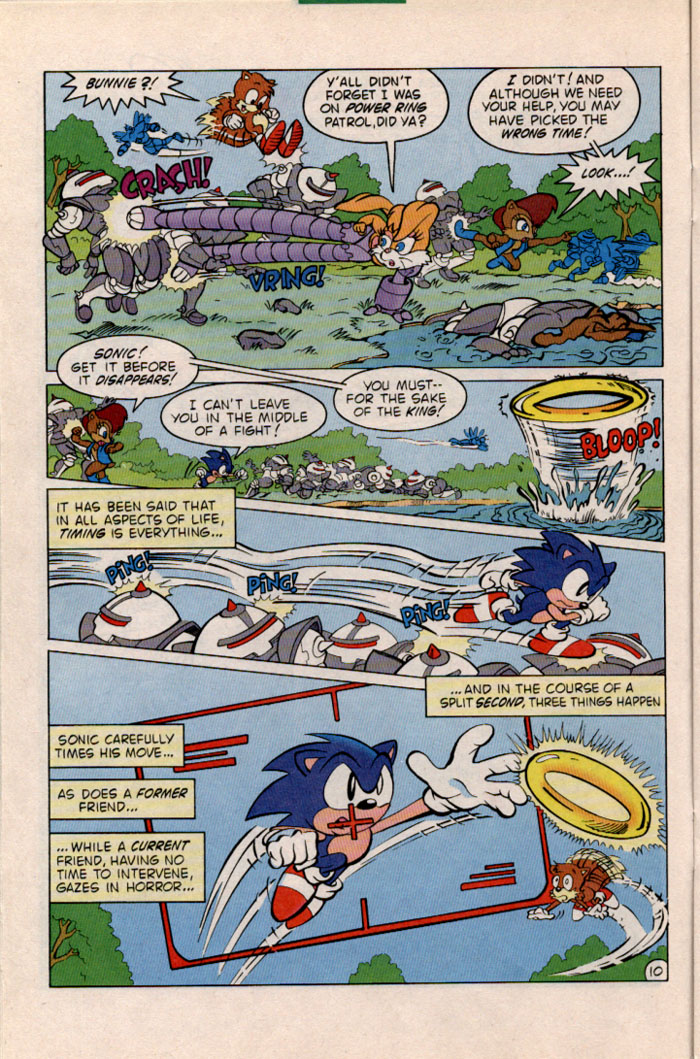 Sonic - Archie Adventure Series January 1997 Page 10