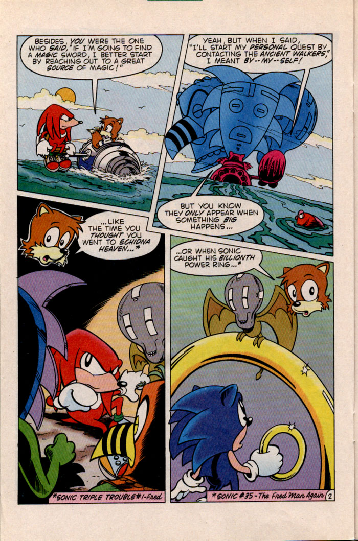 Sonic - Archie Adventure Series January 1997 Page 19