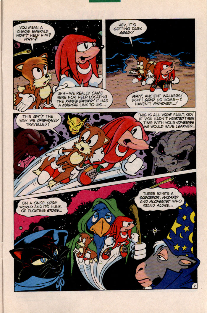 Sonic - Archie Adventure Series January 1997 Page 24
