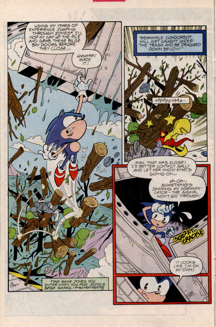 Sonic - Archie Adventure Series January 1997 Page 11