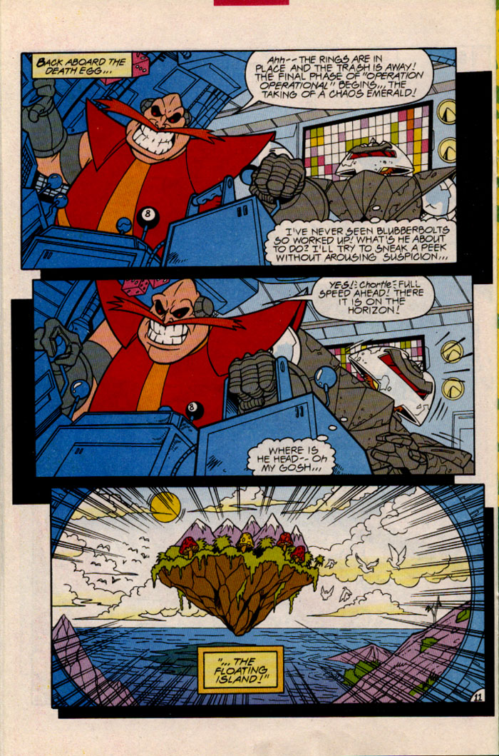 Sonic - Archie Adventure Series January 1997 Page 13