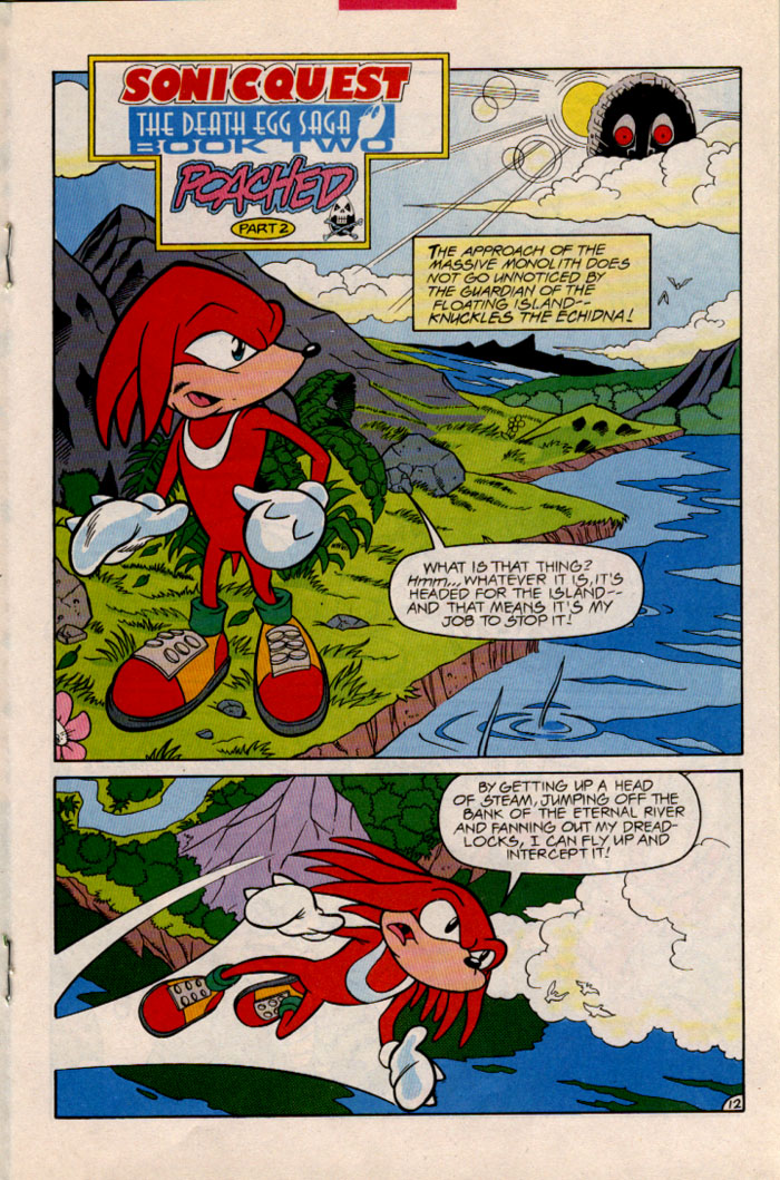 Sonic - Archie Adventure Series January 1997 Page 14
