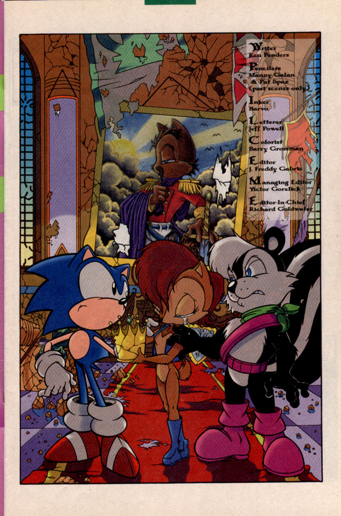 Sonic - Archie Adventure Series February 1997 Page 1