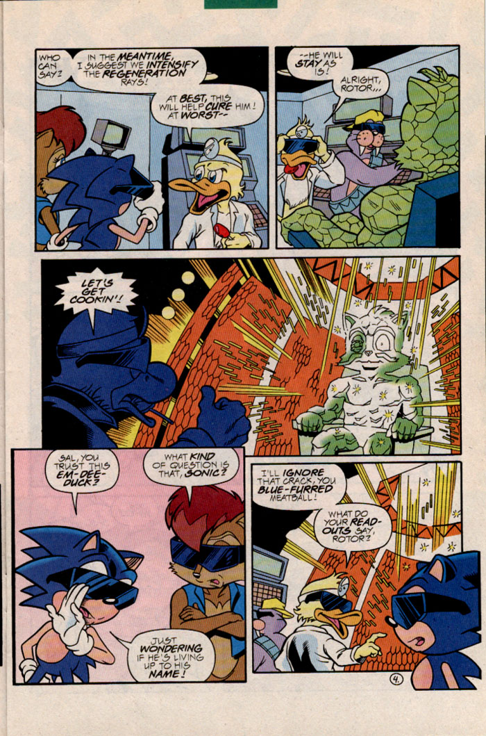 Sonic - Archie Adventure Series February 1997 Page 5