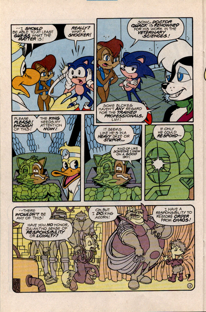 Sonic - Archie Adventure Series February 1997 Page 12