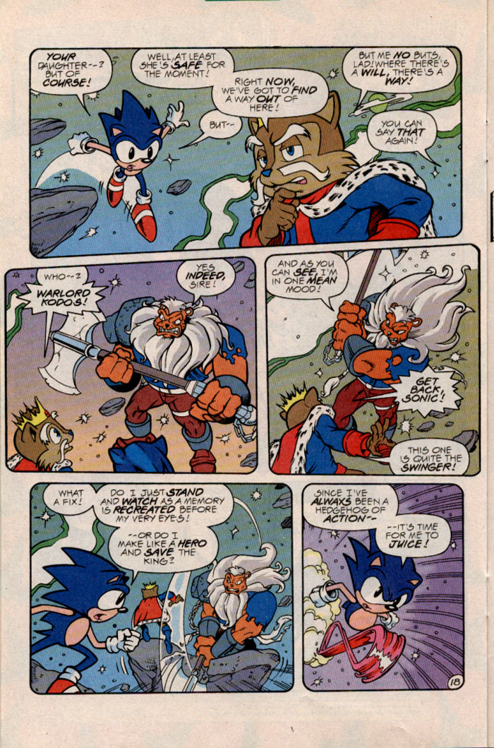 Sonic - Archie Adventure Series February 1997 Page 19