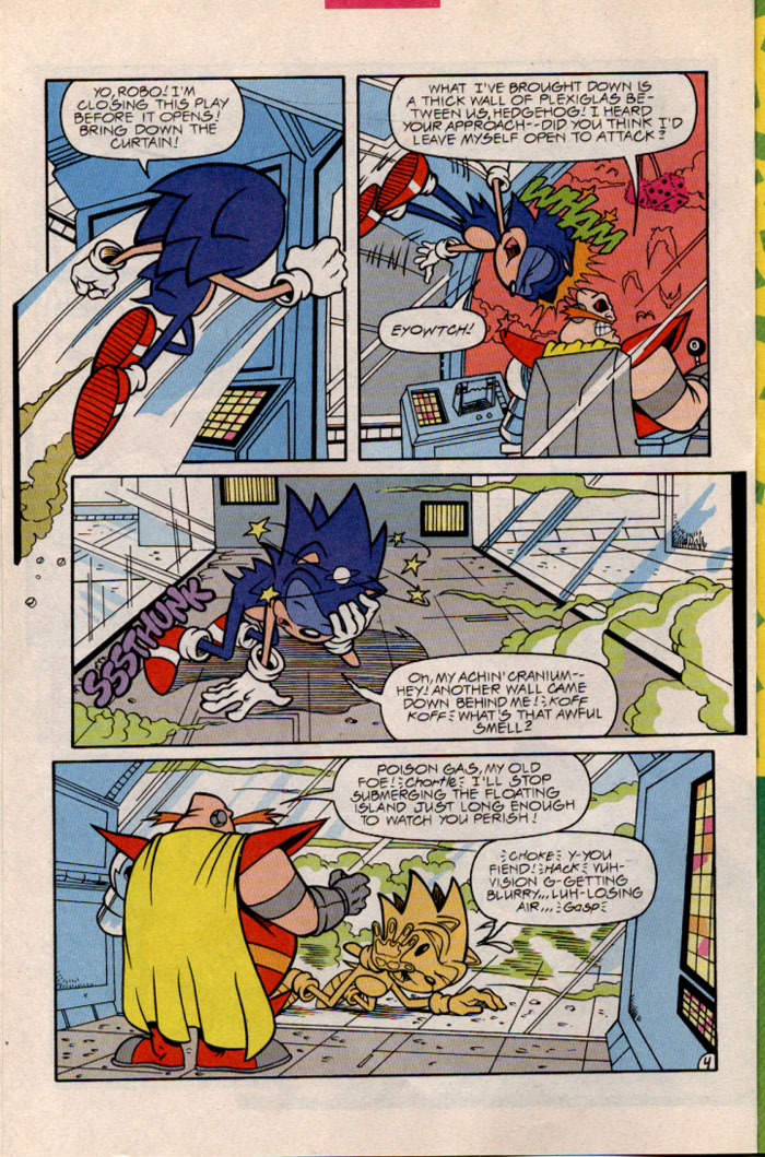 Sonic - Archie Adventure Series February 1997 Page 6