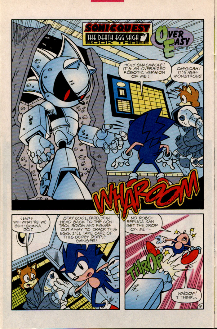 Sonic - Archie Adventure Series February 1997 Page 11