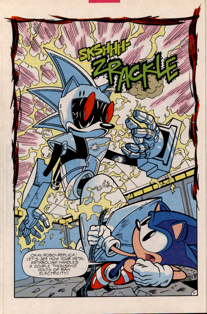 Sonic - Archie Adventure Series February 1997 Page 13