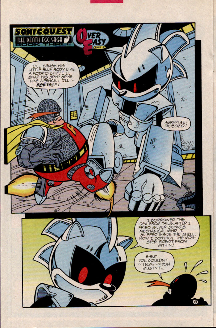Sonic - Archie Adventure Series February 1997 Page 15