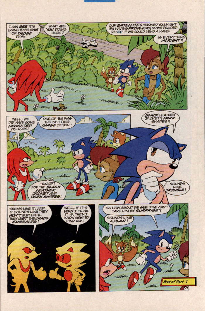 Sonic - Archie Adventure Series March 1997 Page 8