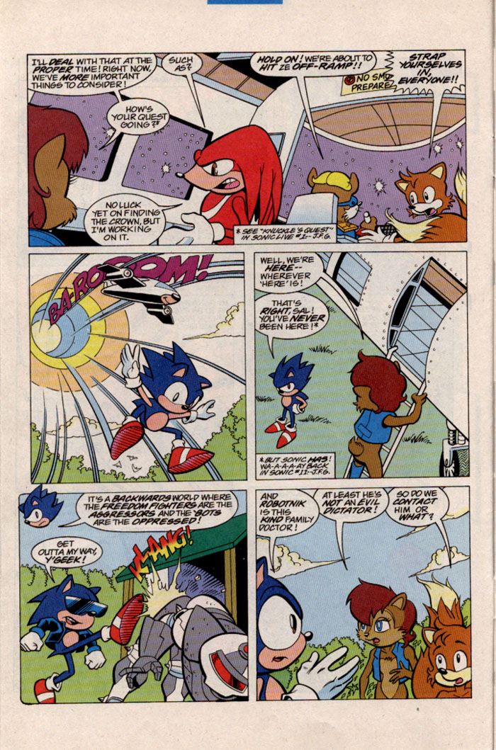 Sonic - Archie Adventure Series March 1997 Page 11