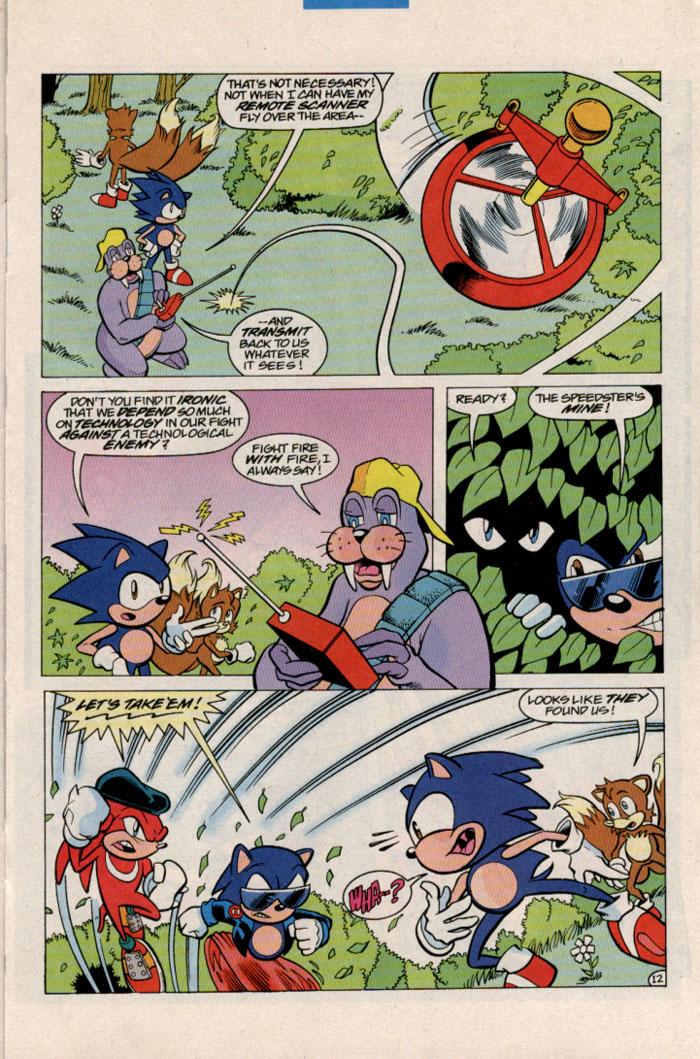 Sonic - Archie Adventure Series March 1997 Page 12