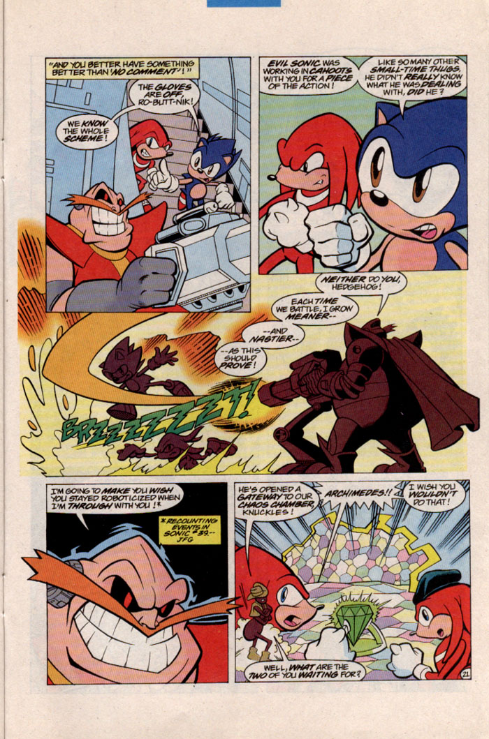 Sonic - Archie Adventure Series March 1997 Page 23