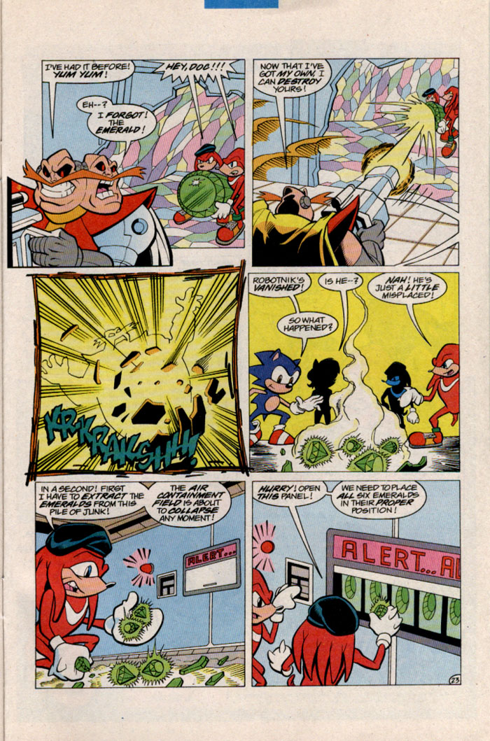 Sonic - Archie Adventure Series March 1997 Page 25