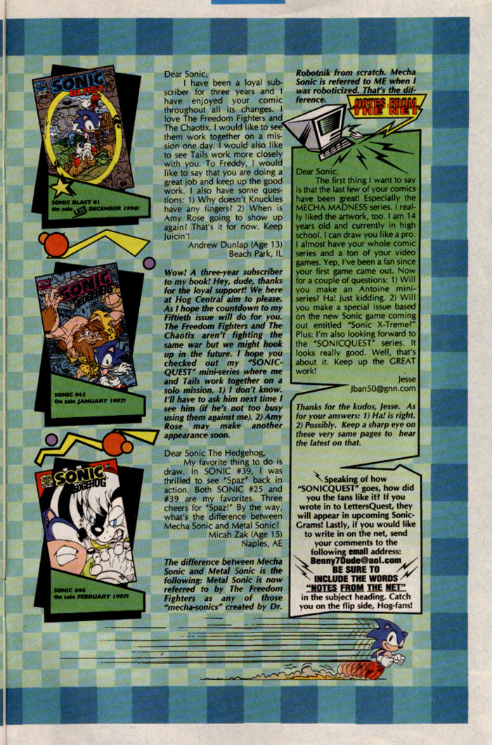 Sonic - Archie Adventure Series March 1997 Page 28