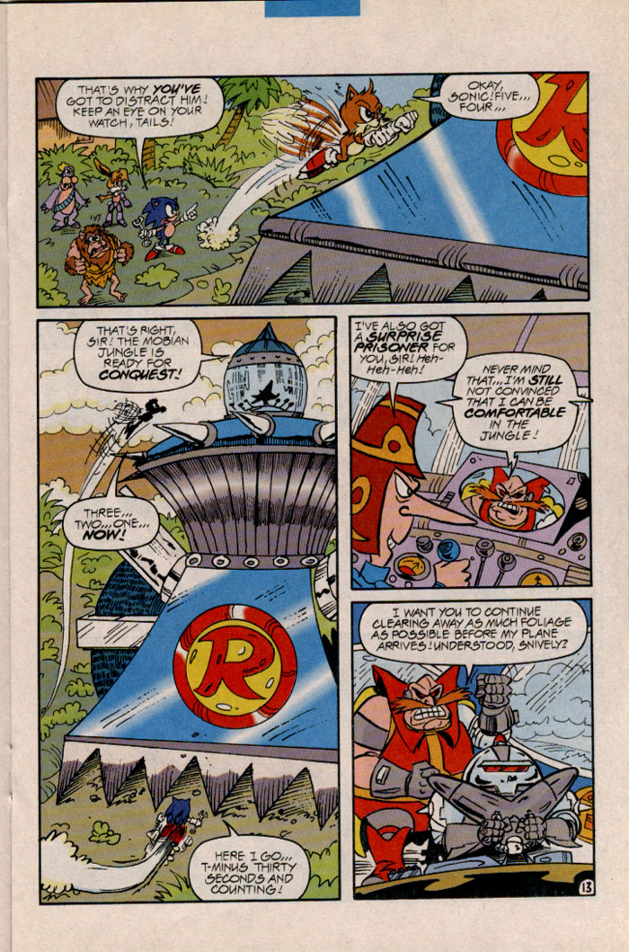 Sonic - Archie Adventure Series April 1997 Page 13