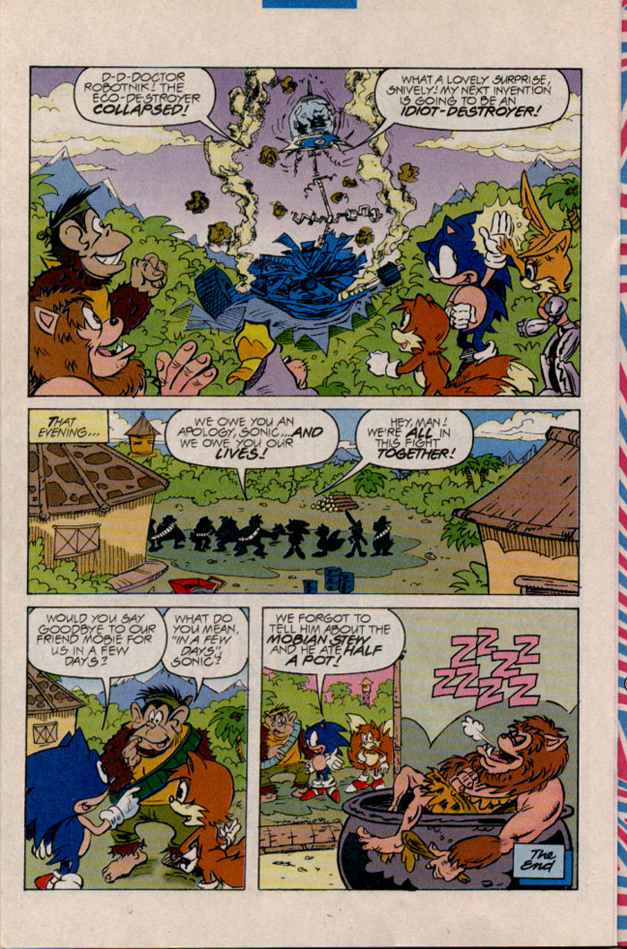 Sonic - Archie Adventure Series April 1997 Page 16