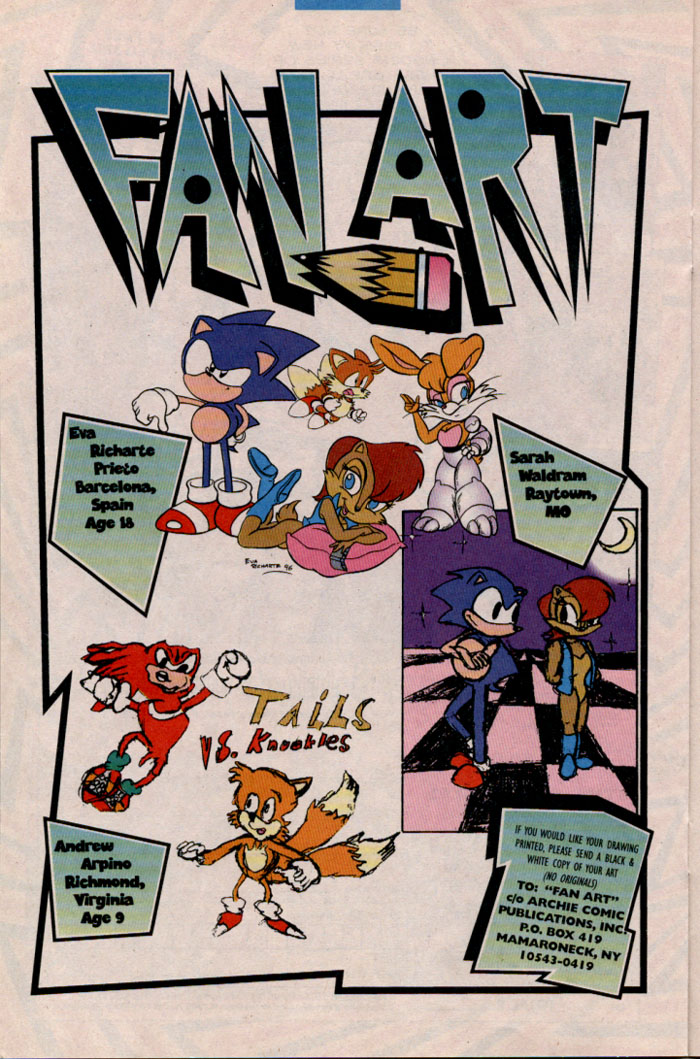 Sonic - Archie Adventure Series April 1997 Page 17