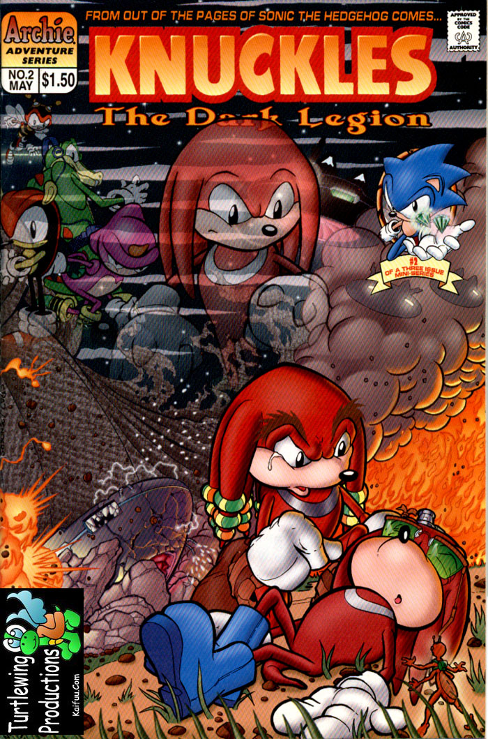 Knuckles - May 1997 Comic cover page