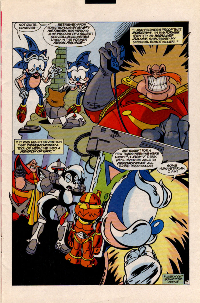 Sonic - Archie Adventure Series May 1997 Page 3