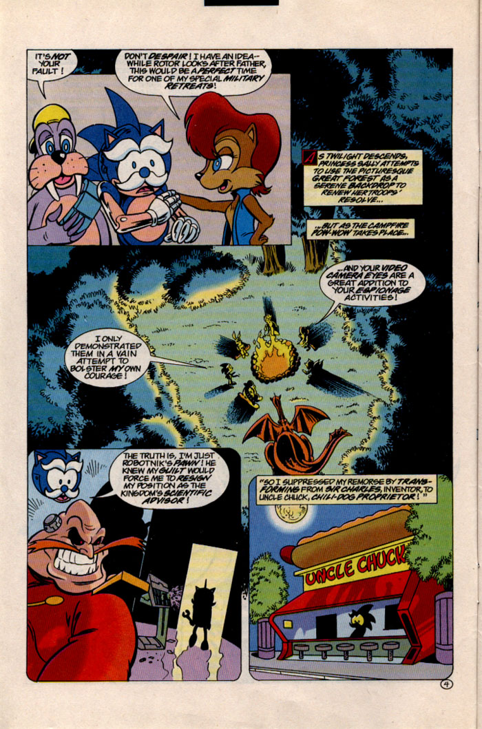 Sonic - Archie Adventure Series May 1997 Page 4