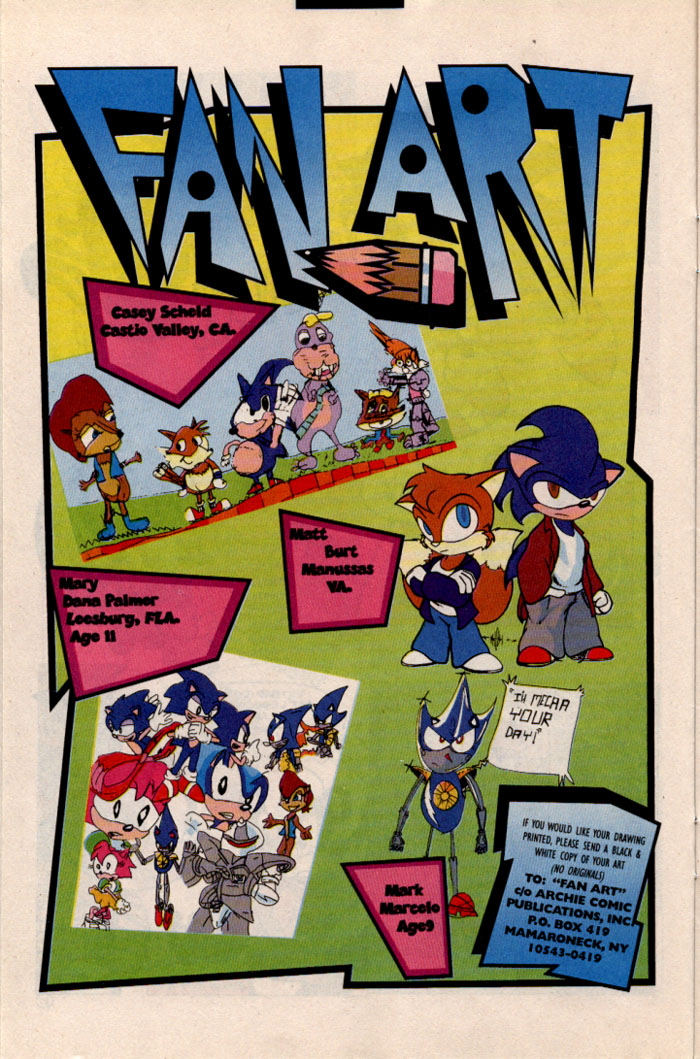Sonic - Archie Adventure Series May 1997 Page 11