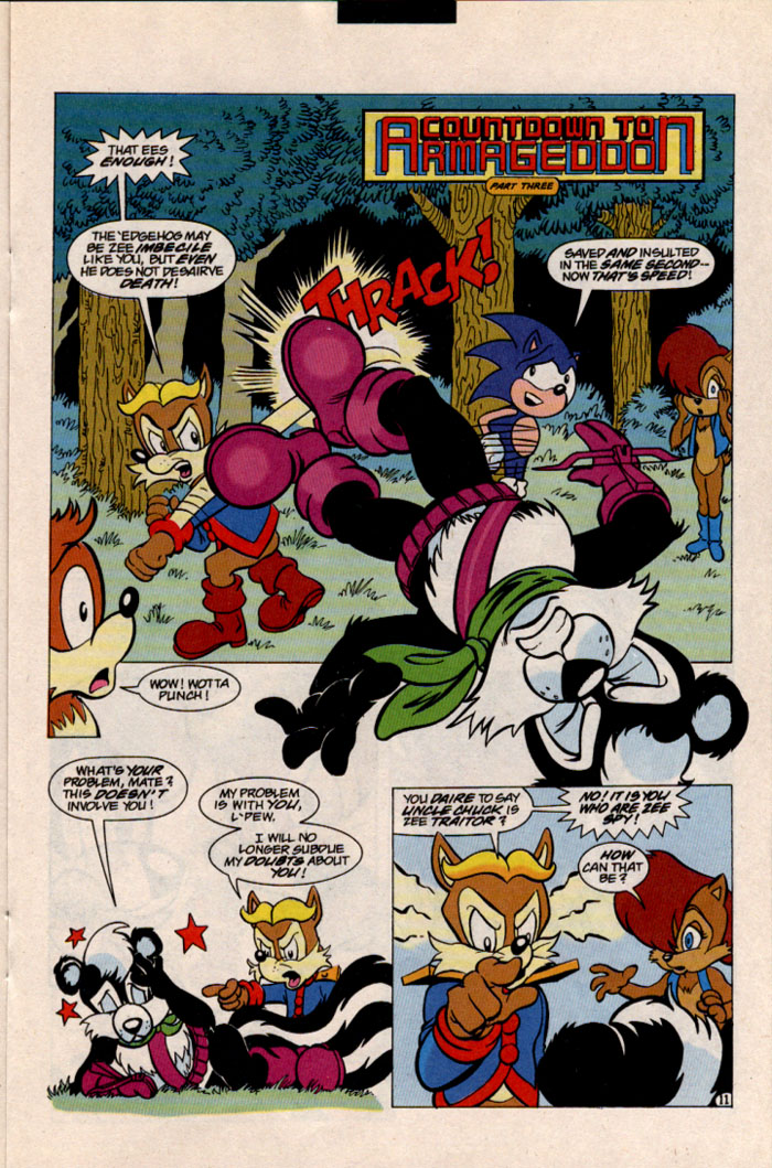 Sonic - Archie Adventure Series May 1997 Page 13