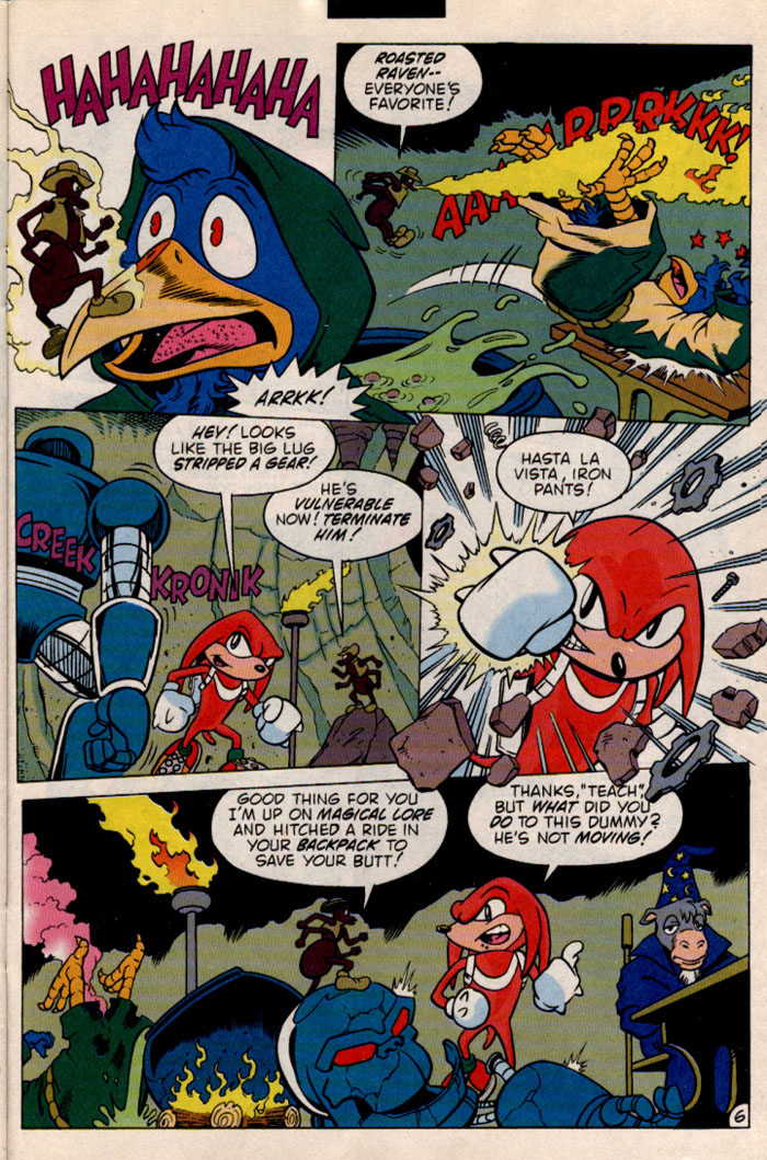 Sonic - Archie Adventure Series May 1997 Page 24