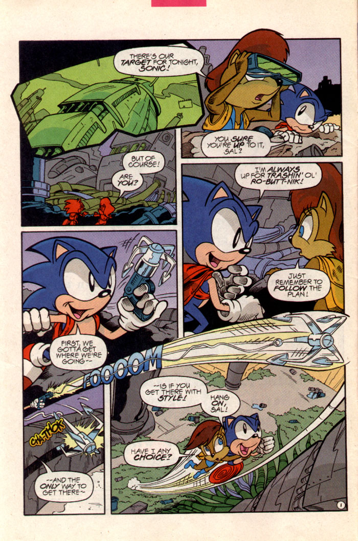 Sonic - Archie Adventure Series June 1997 Page 2