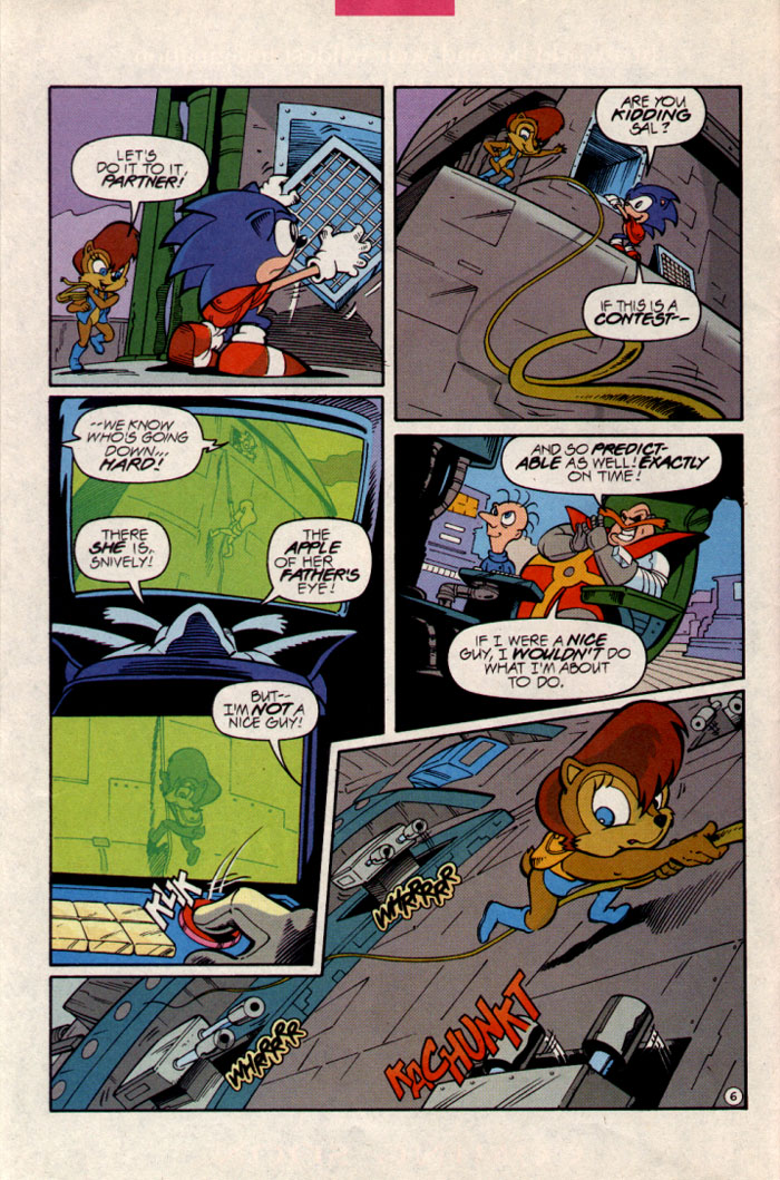 Sonic - Archie Adventure Series June 1997 Page 7