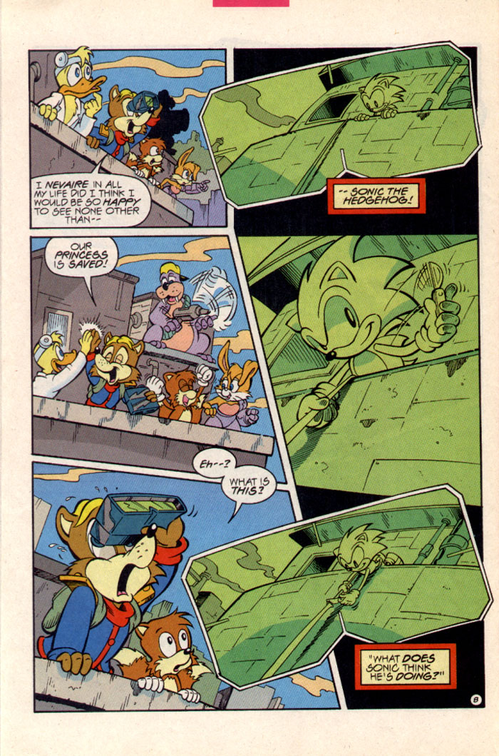 Sonic - Archie Adventure Series June 1997 Page 9