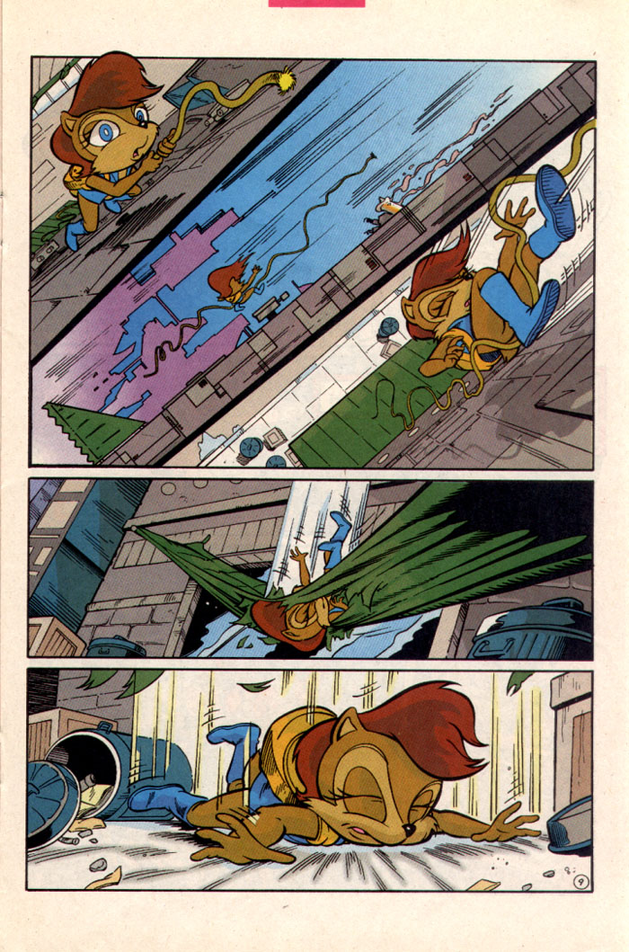Sonic - Archie Adventure Series June 1997 Page 10