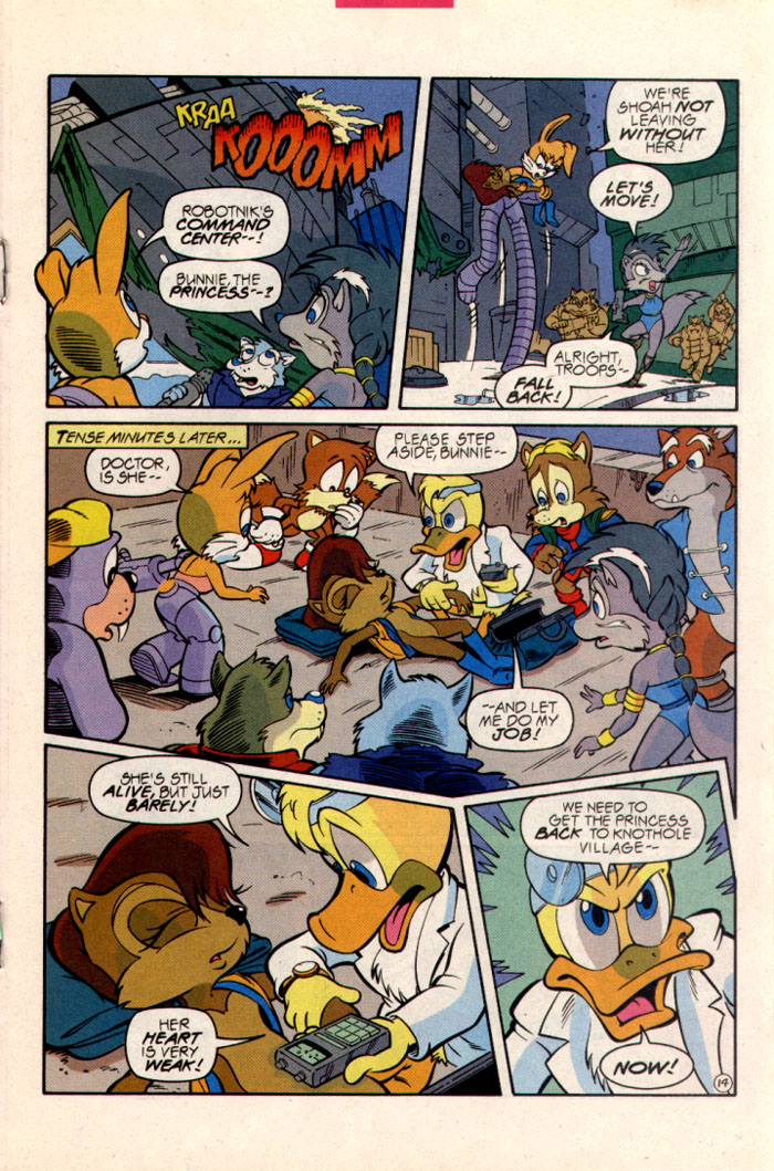Sonic - Archie Adventure Series June 1997 Page 15