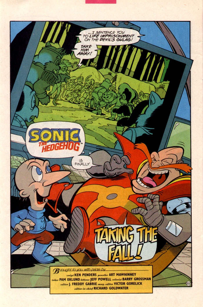 Sonic - Archie Adventure Series June 1997 Page 25