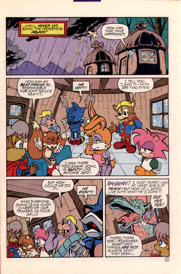 Sonic - Archie Adventure Series July 1997 Page 3