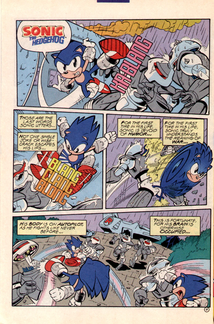 Sonic - Archie Adventure Series July 1997 Page 6