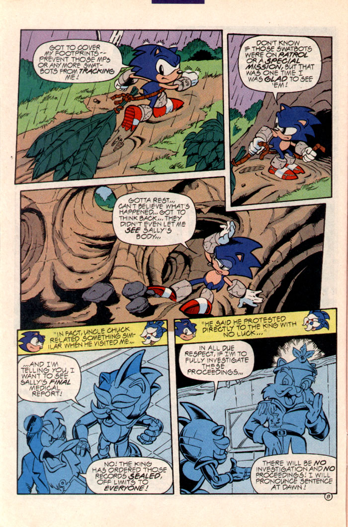 Sonic - Archie Adventure Series July 1997 Page 9