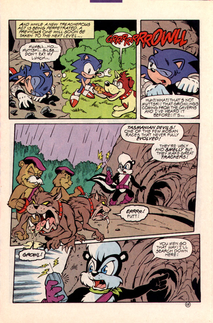 Sonic - Archie Adventure Series July 1997 Page 16