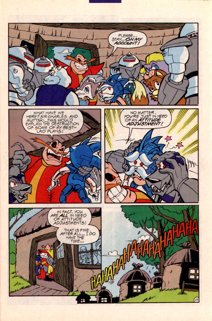 Sonic - Archie Adventure Series July 1997 Page 22